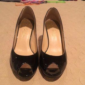 🌸Cole Haan Nike Air Size 10 Peep Toe Pumps🌺
